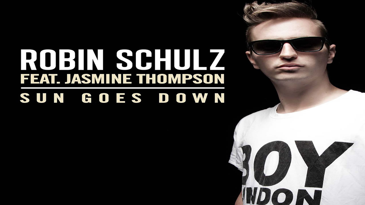 Robin Schulz Jasmine Thompson - Sun Goes Down