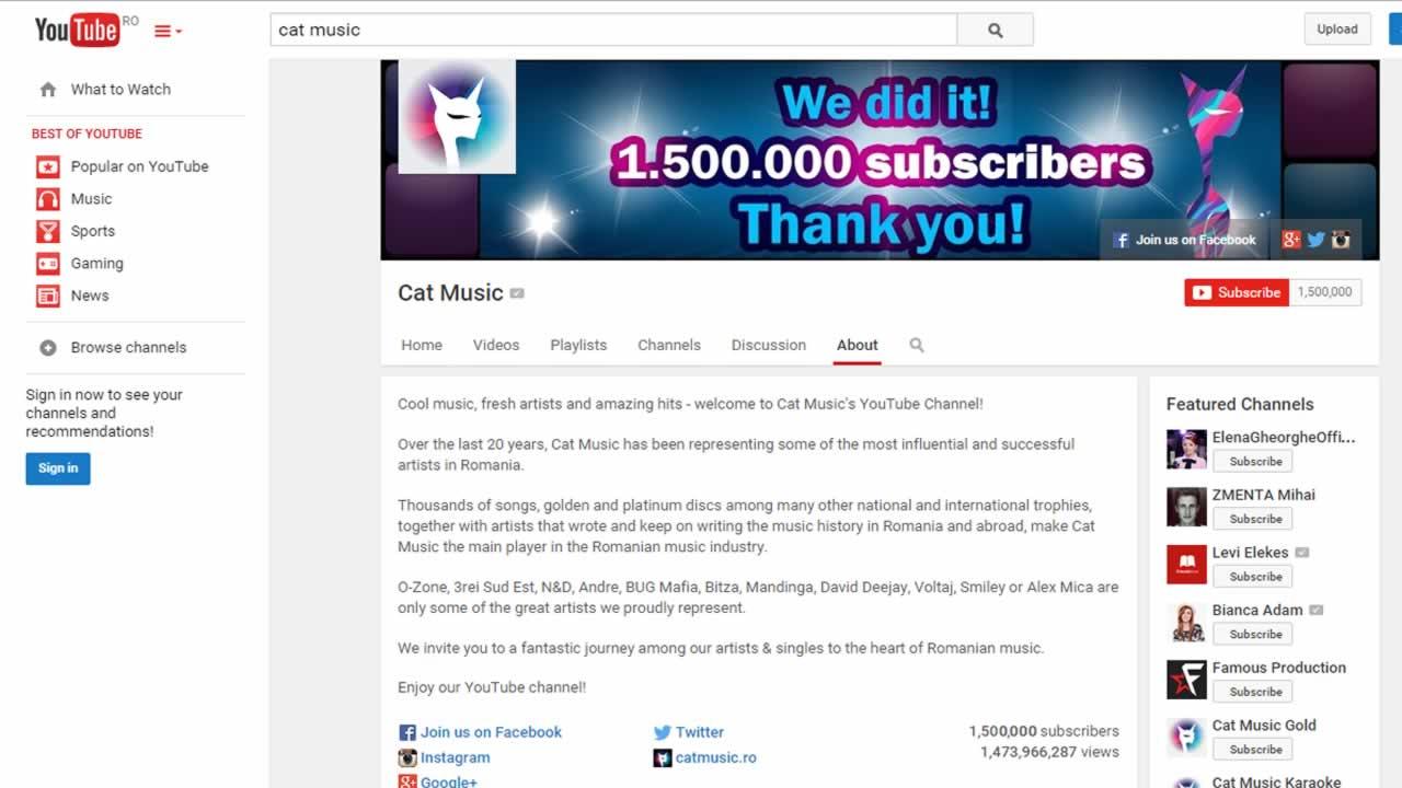CatMusicOffice Youtube